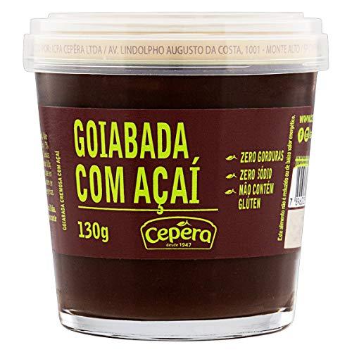 Marmellata di Guava con Açai, 130g - Goiabada com Açaí CEPERA 130g