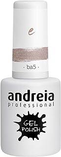 Andreia Esmalte de Uñas de Gel Semipermanente - Color BA5 Brillo Rosa - Sombras de Roja - 105 ml