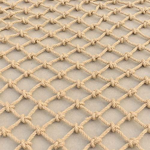 Amacthysh Climbing net,Safety net for children, Used for garden,balcony,stairgate,plant supports, Climbing Rope Net,Grid Garden Netting,climbing frames for children,2 * 4m/6.6 * 13.12ft