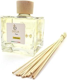 Profumatore ambiente 500 ml con bastoncini profumazione Gardenia con Ricarica da 500ml per la casa ufficio negozio sala la...
