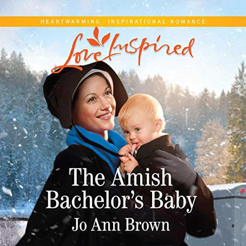 The Amish Bachelor's Baby audiobook cover art