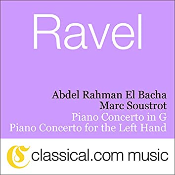 Maurice Ravel, Piano Concerto For The Left Hand In D Major