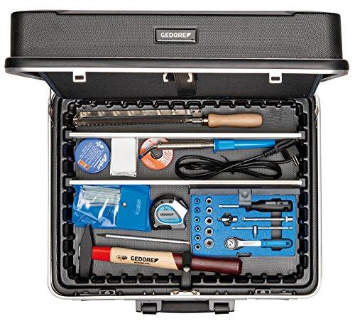 GEDORE 1090 Werkzeugkoffer Elektriker 90-TLG