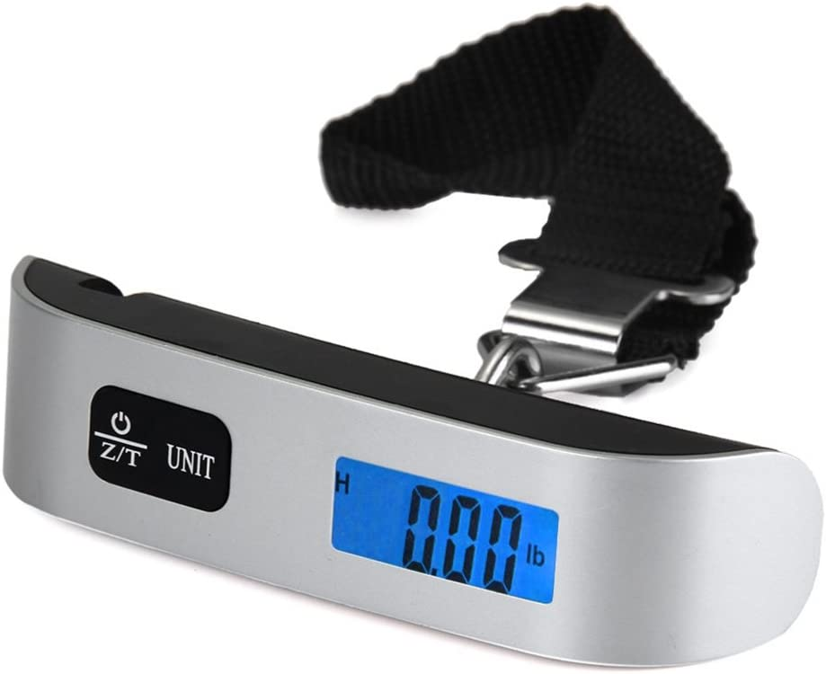 Outlet ☆ Free Shipping Anytec LCD Electronic luggage Scale Luxury goods 50kg 10g Handheld Weigh Devi