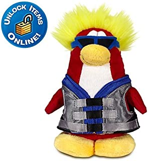 Disney Club Penguin 6'' Limited Edition Penguin Plush -- Water Sport