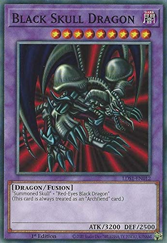 Black Skull Dragon - LDS1-EN012 - Common - 1st Edition