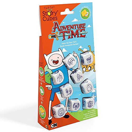 Creativity Hub Rory#039s Store Cubes: Adventure Time Dice Game Set