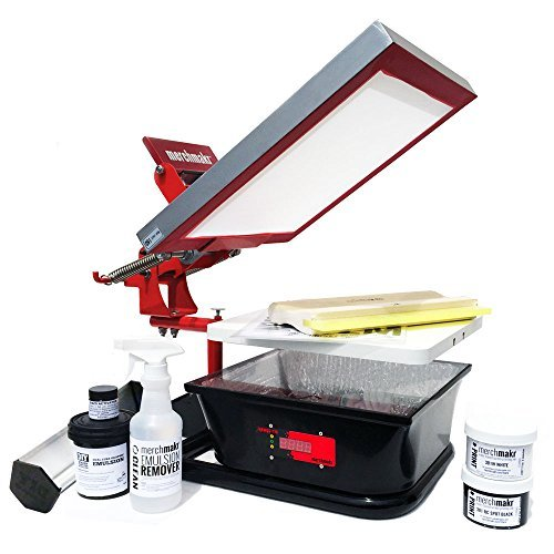 9. Merchmakr All-in-One Screen Printing Kit for T-Shirts