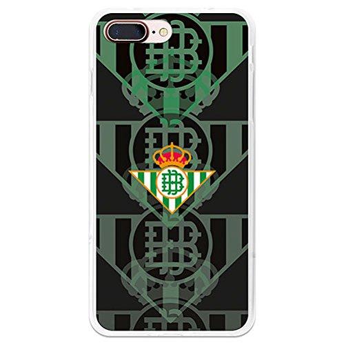 Carcasa OFICIAL Betis Escudos fondo negro para iPhone 7 Plus