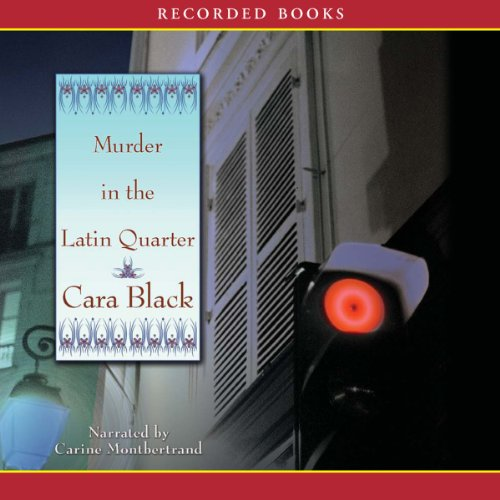 Murder in the Latin Quarter audiobook cover art