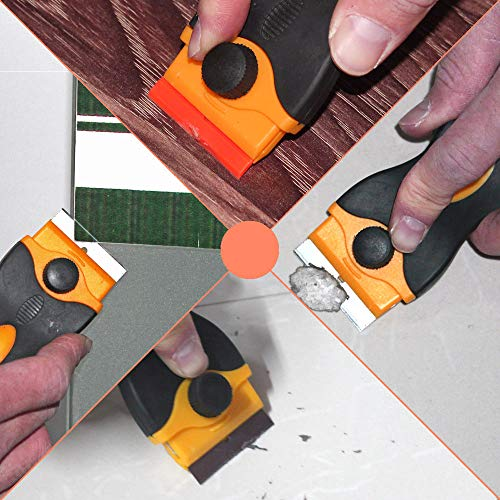 SHIJING Window Tint Tool Keramisch glas Oven Verf Razor Schraper Lijm Sticker Mes Schoon Verwijderen Squeegee 1.5