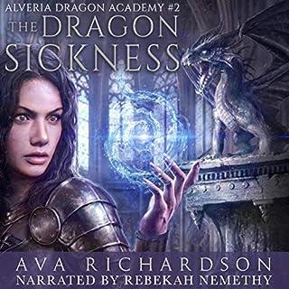 The Dragon Sickness  audiobook cover art