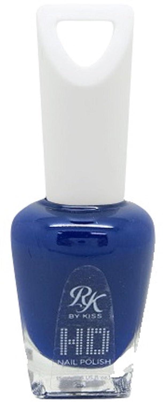 服を片付けるシャープマティスHDポリッシュ Enamel Blue HDP701J