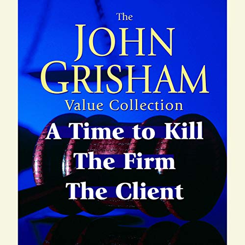 John Grisham Value Collection audiobook cover art