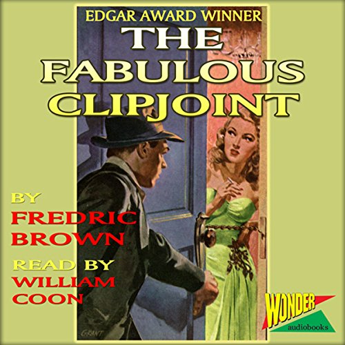 The Fabulous Clipjoint  audiobook cover art