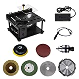 Best Table Saws - SEAAN Multifunctional Mini Table Saw, 200W Household 0-90° Review