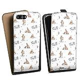 DeinDesign Étui Compatible avec Apple iPhone 7 Plus Étui à Rabat Étui magnétique Winnie...
