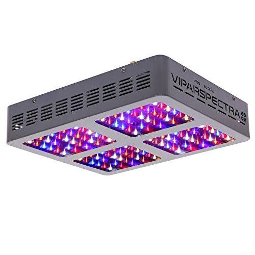 VIPARSPECTRA Reflector 600W LED Grow Light LED Pflanzenlampe Full Spectrum wachsen für Zimmerpflanzen Gemüse und Blumen