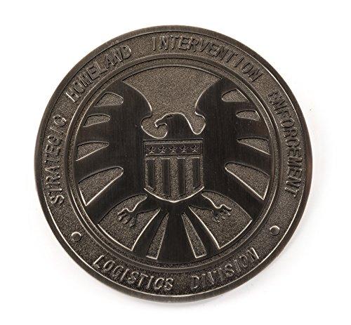 Agenti di Shield S.h.i.e.l.d. Spilla in metallo con spilla Breatpin