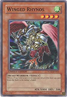Yu-Gi-Oh! - Winged Rhynos (FOTB-ENSE2) - Force of the Breaker: Special Edition Promos - Promo Edition - Super Rare