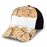 Fuliya, berretto da baseball da uomo e donna, regolabile, in twill lavato, a basso profilo, diverse forme di tagli con contorni di glassa, croccanti spuntini aromatici