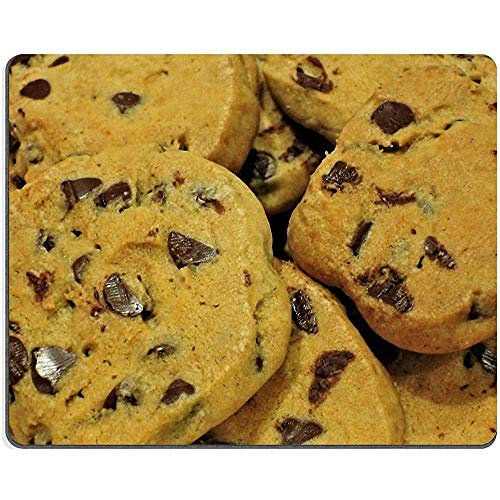 Muismat Chocolade Chip Cookies Boter Natuurlijke Rubber Materiaal Afbeelding