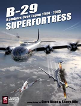 LEGION  B-29 Superfortress Bombers Over Japan 1944-45 Solitaire Board Game 2nd Edition