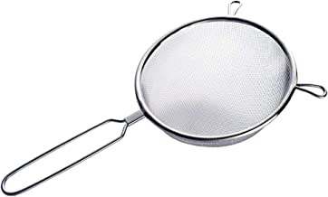 eroute66 Large Stainless Steel Fine Mesh Strainer Kitchen Cooking Tool 12 inch