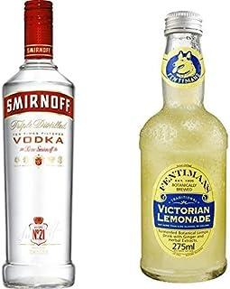 Smirnoff Red Label Vodka 1 x 0.7 l mit Fentimans Victorian Lemonade, 12er Pack 12 x 275 ml