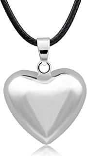 EUDORA Harmony Ball Necklace Brilliant Pregnancy Chime Bola Pendant, 45