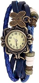Daizel Analogue Yellow Dial Girl's & Women's Watch - PIX-DORI-BLU