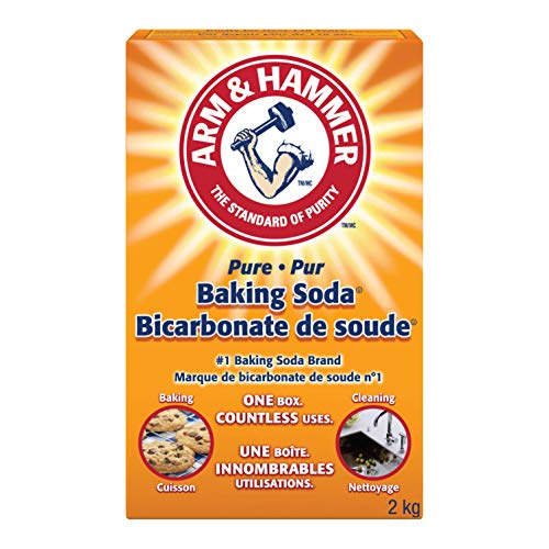 ARM & HAMMER Baking Soda, For Baking, Cleaning and Deodorizing, 2-kg