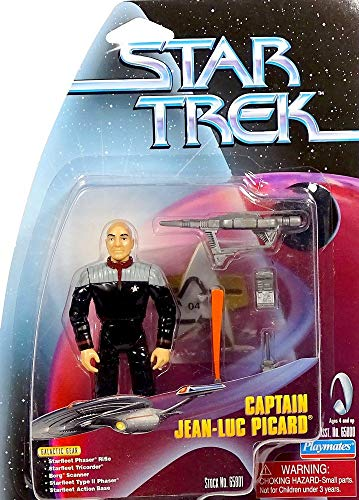 Captain Jean-Luc Picard in Movie Uniform - Actionfigur Star Trek The Next Generation Warp Factor Series von Playmates