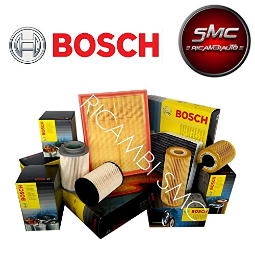 Kit tagliando 4 FILTRI BOSCH + FILTRO CARBURANTE UFI ORIGINALI (0451103300, F026400041, 24.ONE.01, 1987432377)