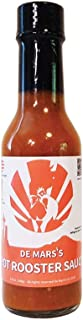 de Mars's Hot Rooster Sauce - 5oz Bottle Gourmet Cooking Saute BBQ Marinade Hot Sauce