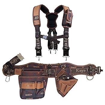 Tool Pouch Belt Bag Holsters Suspenders Electrician Maintenance Carpenter Technicians Work Organizer Framers Rig Belt Hammer Drill Holder Multipurpose Pocket Suspender Set of 4 Gift for Men