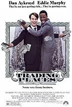 Trading Places Movie Poster (27 x 40 Inches - 69cm x 102cm) (1983) -(Eddie Murphy)(Dan Aykroyd)(Jamie Lee Curtis)(Ralph Bellamy)(Don Ameche)(Denholm Elliott)