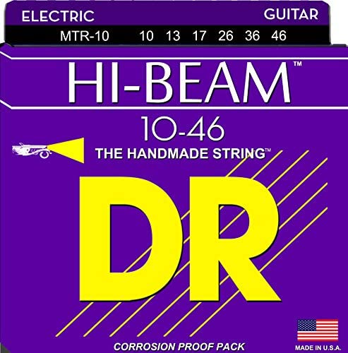 DR Strings Electric Guitar Strings Hi Beam Hex Core 10 46 product image