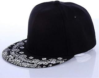 Newest Unisex Paisley Adult Snapback Hiphop Hat Adjustable Baseball Cap