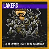 NBA Los Angeles Lakers Calendar 2021-2022: Monthly Colorful Lakers Calendar 2021 - 2022, Great 18-month Calendar from Jul 2021 to Dec 2022 In Mini Size 8.5x8.5 For All Fans!