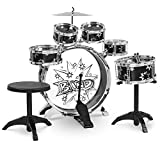 Best Choice Products Kids 11-Piece Starter Drum Set, w/Bass, Tom,...