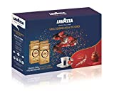 OFISTRADE Pack Christmas Lavazza&Lindt: 2 uds Lavazza Qualita Oro 250g + Lindt 10 bombones Lindor