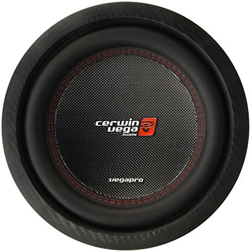 cerwin vega 10 inch car subwoofers Cerwin-Vega VPRO104D Pro 1400 Watts Max 10-Inch Dual Voice Coil Subwoofer 4 Ohms/700 Watts Power Handling