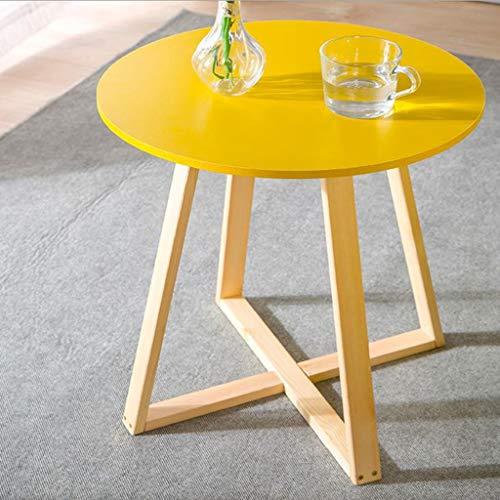 Huahua Chair bijzettafel, MDF, retro zijde/koffie/eetkamer/lamp/nachtkastje, kleine woonkamertafel