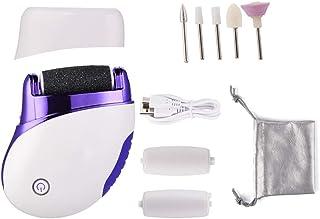 Pedicure Electrique - 5 Dans 1 Machine À Callus Remover Rechargeable USB Pied De Pédicure, Pieds Pédicure Remover Peau Dur...