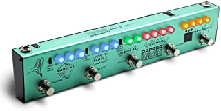 Valeton Multi Effects Guitar Pedal Dapper Indie of Distortion Reverb Delay Chorus Fuzz And Phaser Tremolo for Indie Ambient Psychedelic Grunge Post Rock Stoner Metal Retro Alternative Tone