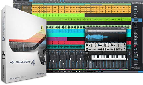 Presonus Studio One 4 Professional/Boxed -Channel Multitrack Recording Software
