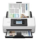 Epson Workforce DS-780N 600 x 600 DPI Alimentation Papier de Scanner Noir, Blanc A4 - Scanners (215,9 x 6096 mm, 600 x 600 DPI, 30 bit, 24 bit, 8 bit, 90 ppm)
