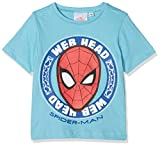 Spiderman Web Head T- T-Shirt, Turquoise (Blue 215), 4 Ans (Taille Fabricant: 4Y)...