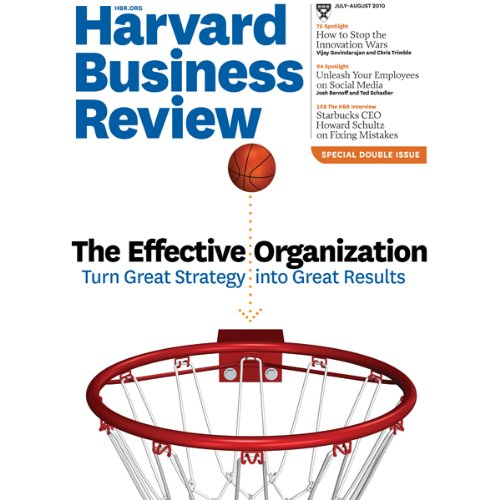 Harvard Business Review, July 2010 cover art